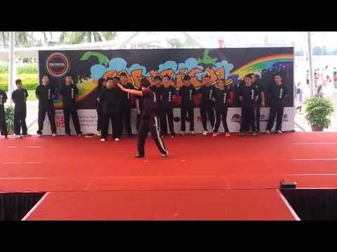 Singapore Ip Man Ving Tsun Kuen performs Opening Ceremony for Rafusicul 2013