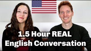 Download lagu 1.5 HOUR English Conversation Lesson