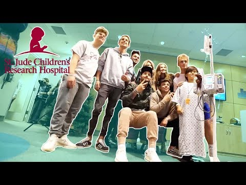 Visiting St. Jude Children's Hospital For The First Time (emotional)