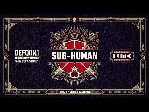 The Colours of Defqon.1 Australia | WHITE mix by SUB-Human