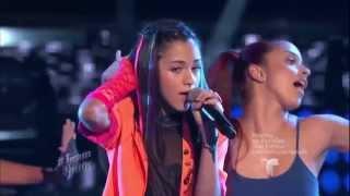 """Alanis González canta """"Ni Freud ni tu mamá"""" en """"La Voz Kids"""""""