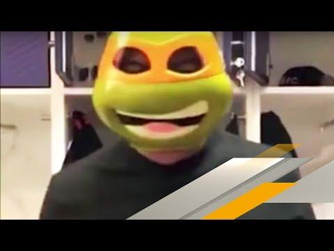 Ähnlichkeit mit Ninja Turtle? Paris-Stars veräppeln Mbappé | SPORT1