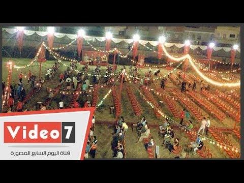 أهالى قرية محمد صلاح يحتفلون بهدف تعادل ليفربول أمام ريال مدريد  - 23:22-2018 / 5 / 26