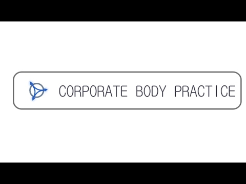 Corporate Body Practice - Presentation video 2017