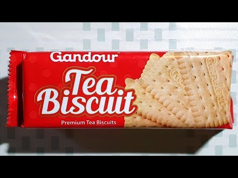 السعرات الحرارية في غندور بسكويت شاي صغير عبوة 90 غ Youtube