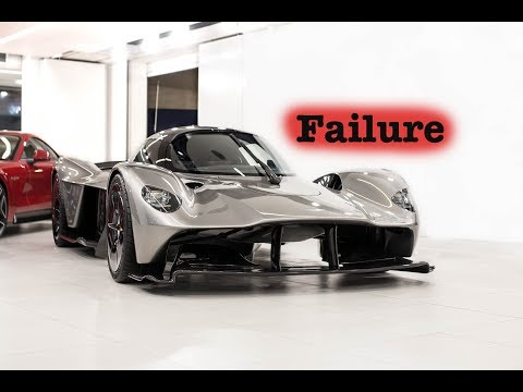 EPIC FAIL – $3 MILLION Aston Martin Valkyrie…. This did NOT go as planned…