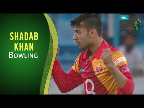 PSL 2017 Match 20: Karachi Kings vs Islamabad United - Shadab Khan Bowling thumbnail