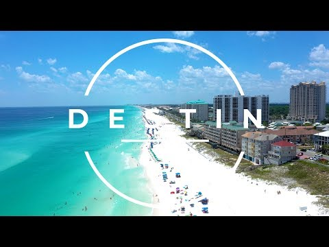 Destin, FL - Blue Destination - Drone Footage