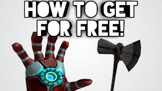 HOW TO GET MARVEL ITEMS FOR FREE! | ROBLOX
