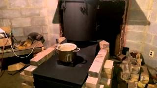 Rocket stove hybrid, adding a riser to my stove