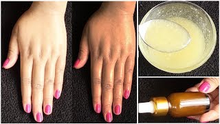 Overnight Skin Whitening Serum / Apply it in 5 Minutes before Sleep / Get Fair Spotless Glowing Skin