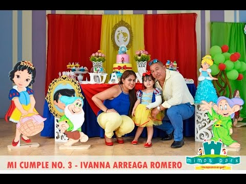 CUMPLE 3 PRINCESA IVANNA BLANCANIEVES