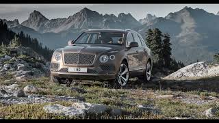 Bentley Bentayga Driving