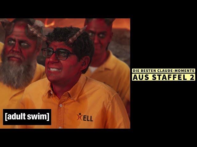 Your Pretty Face Is Going To HelI | Die besten Claude-Momente aus Staffel 2 | Adult Swim