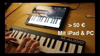 M-Audio Keystation Mini 32 - im Test mit iPad und PC