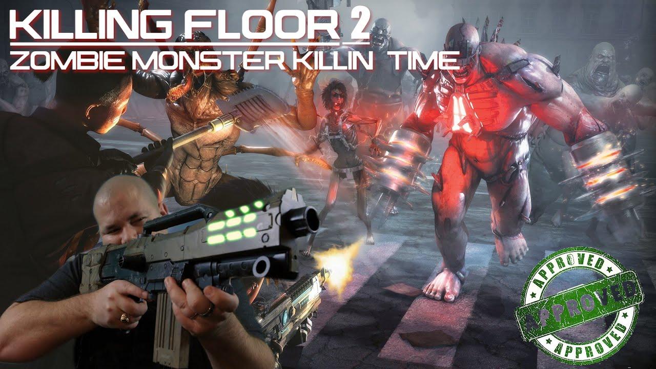 Killing Floor 2 Pc Coop Gameplay Good Ol Fashion Zombie Slaying Fun Youtube