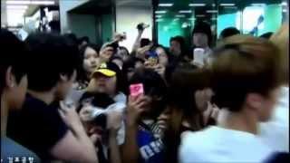 Manager golpea a fan frente a Tao de Exo