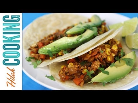 How to Make Vegetarian Tacos_Hilah Cooking