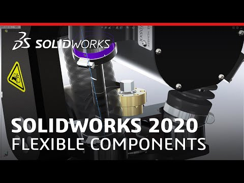 What's New in SOLIDWORKS 2020 - Flexible Components