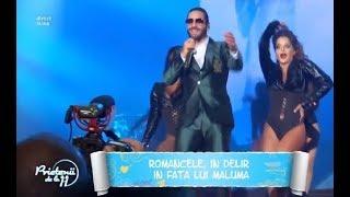 Romancele, in delir in fata lui Maluma