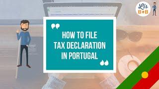 How to file onĮine tax declaration Portugal