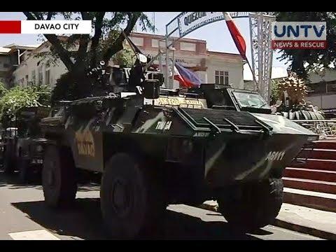 Davao City, inilagay na sa hold and secure situation