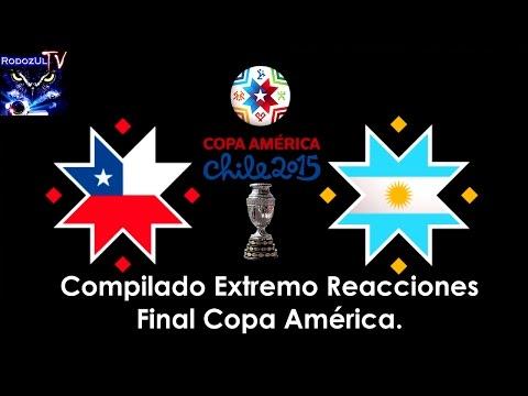 Reacciones Final Copa América 2015 Penales Chile Argentina. Compilado Extremo Campeón Película.