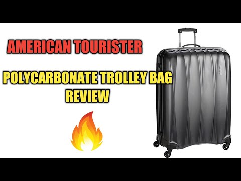 American Tourister Polycarbonate Luggage Trolley Bag Review | Best In The Market?🔥🔥
