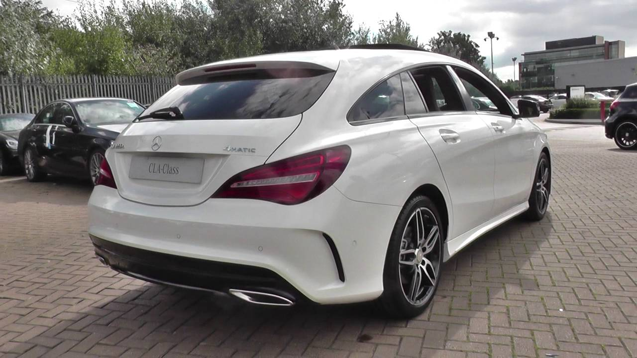 mercedes benz cla class shooting brake cla 220 d 4matic. Black Bedroom Furniture Sets. Home Design Ideas