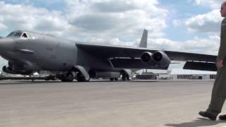 ILA 2010 Abflug des B-52 (14.06.2010)