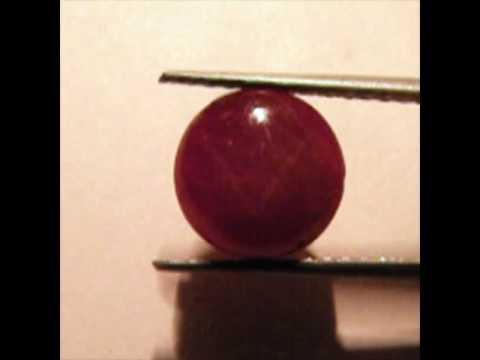 7.65-Carat Star Ruby