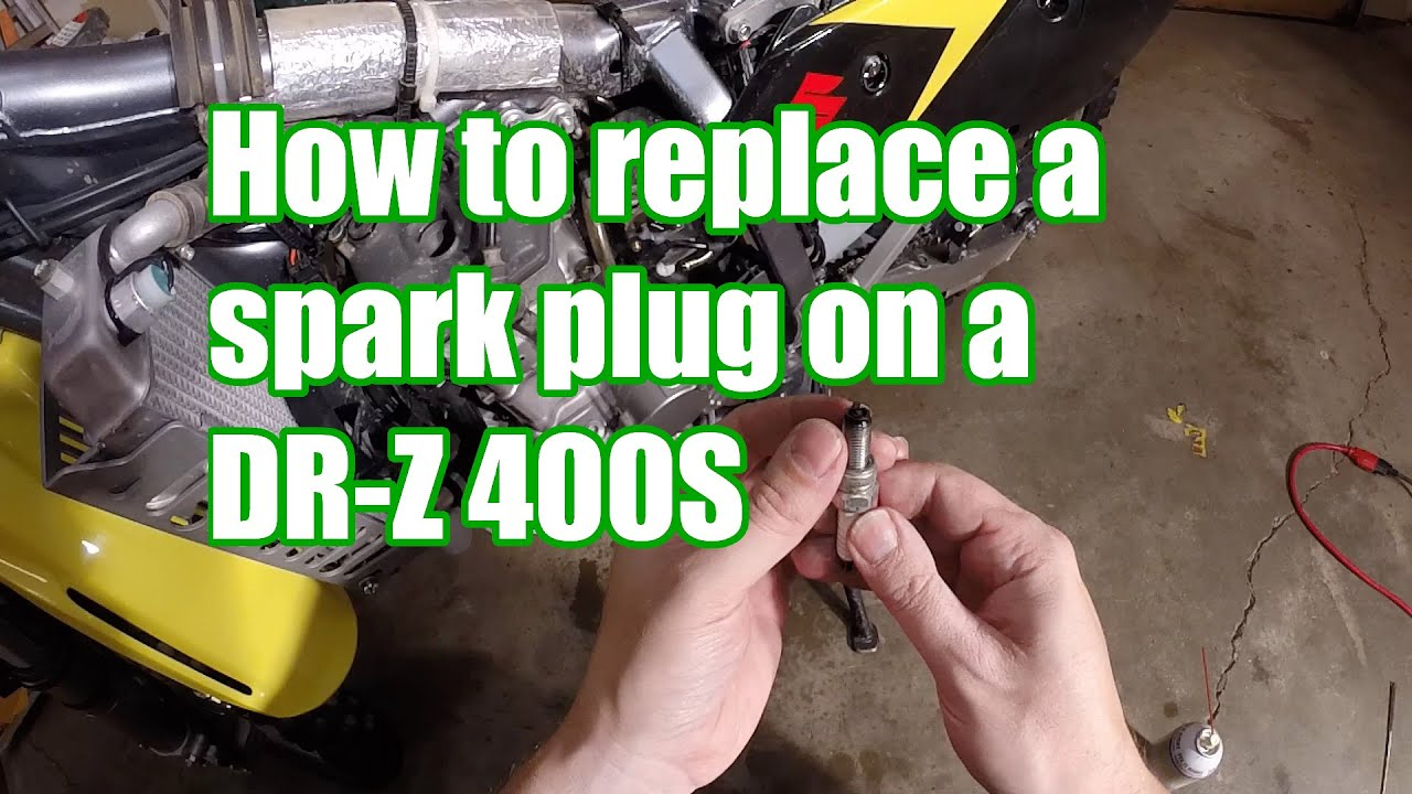How to Replace a Spark Plug on a DRZ400