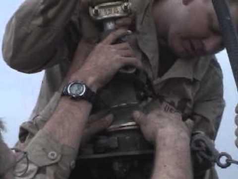 AFN Iraq Radio Antenna Install
