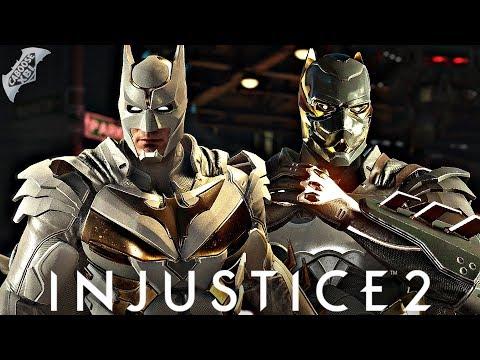 Injustice 2 Online - GOLD BATMAN VS GOLD BATMAN!