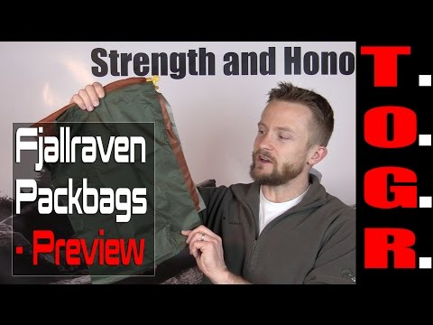 Organize Your Gear! - Fjallraven Packbags - Preview