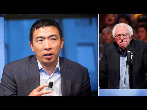 "Andrew Yang Claims His Friends In Media Wanted To ""Kneecap"" Bernie Sanders"