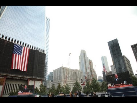 Mayor Bloomberg speaks at 9-11 Ten Year Anniversary Commemoration Ceremony