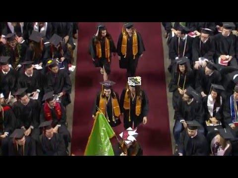 Northeastern University Undergraduate Commencement 2016