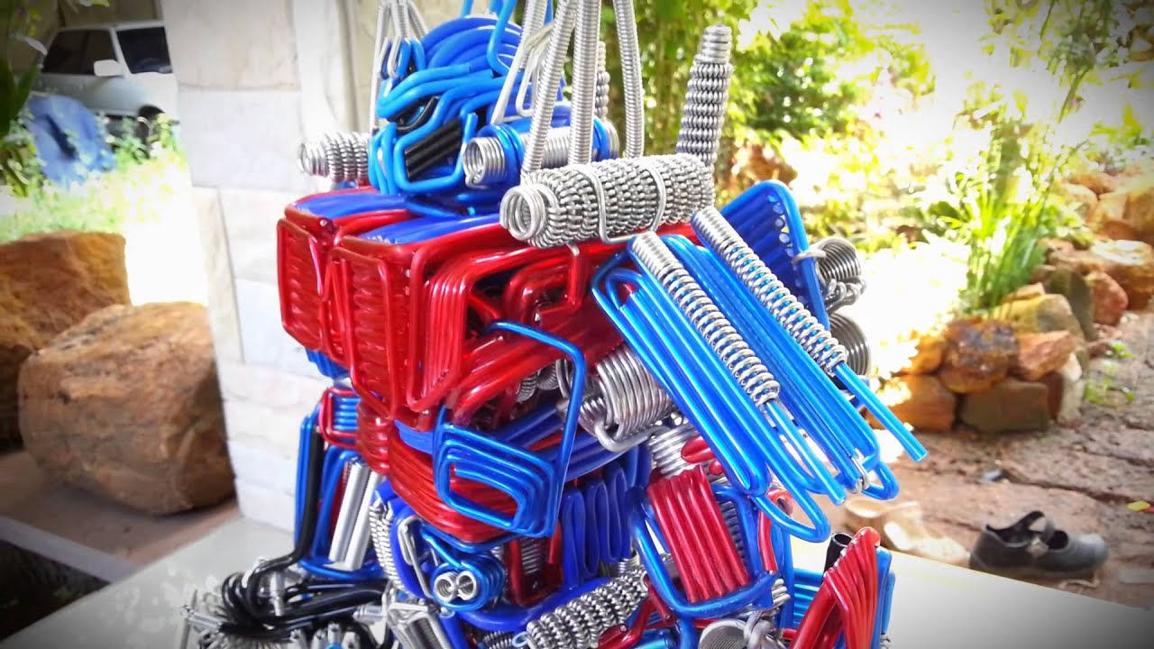 optimus prime wire by f4handmade - YouTube