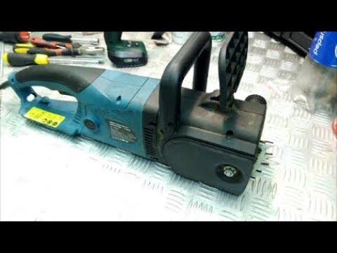 Не подается масло на цепь, ремонт электропилы замена маслонасоса