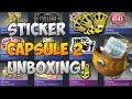 CS:GO STICKER CAPSULE 2 OPENING -Hunt For Crown Foil Episode 1