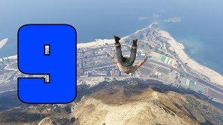 GTA SUPER Epic Fails 3 | CAIDAS EN MONTAÑA | Capitulo 9