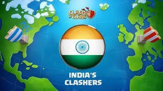 FIRST INDIAN CLAN IN WORLD CHAMPIONSHIP | INDIAN CLASHERS ......... CLASH OF CLANS - COC
