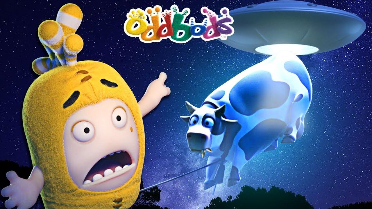 Oddbods Show | Funny Alien Abduction | Cartoons For Kids | Full Episodes Compilation
