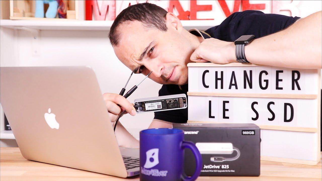 Tuto : comment changer le SSD d'un MacBook Air/Pro en vidéo ! (+