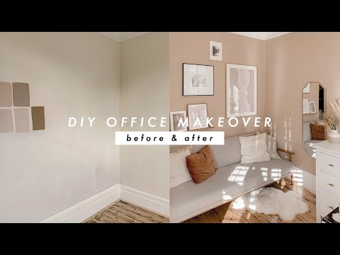 DIY HOME OFFICE MAKEOVER | MOVING VLOG 08 | AD | I Covet Thee