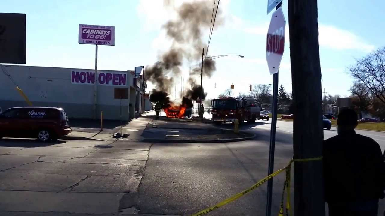 Car Explosion In Dearborn