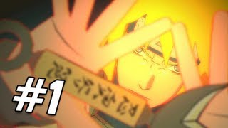 Naruto Shippuden Ultimate Ninja Storm 3 Walkthrough - Part 1 Prologue Kyuubi Attacks JAP Gameplay