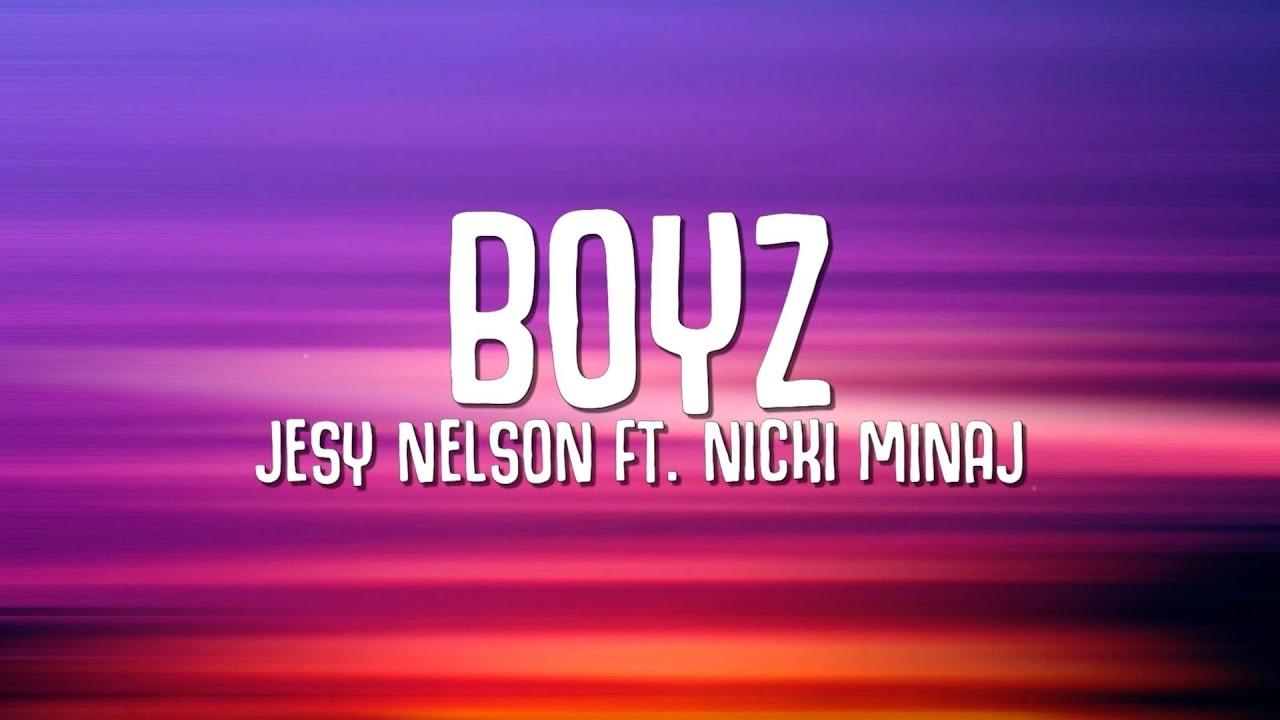 Download Jesy Nelson - Boyz (Lyrics) ft. Nicki Minaj