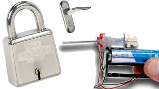 كيف تصنع جهاز إلكتروني لفتح جميع الأقفال والأبواب بدون مفتاح